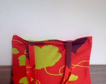 """flowers"" patterned bag"