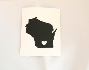 Custom States Decal