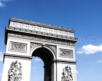 Arc de Triomphe, Paris, France, Photography, Instant Digital Download