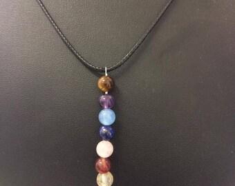 Libra astrological sign necklace minerals / gemstones