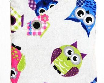 Owl Canvas Handbag, Canvas Crossbody Handbag, Shoulder Bag, Crossbody Bag, Adjustable Strap Handbag, Small Canvas Bag, Gift for Her