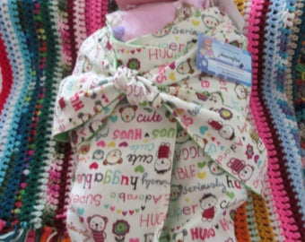Cross-Tie Swaddle Sack