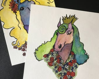 Personalized Portrait of You AS A HORSE!