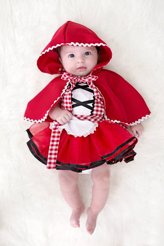 Red Riding Hood costume baby Red Riding Hood costume baby