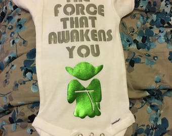 The Force That Awakens You children's romper