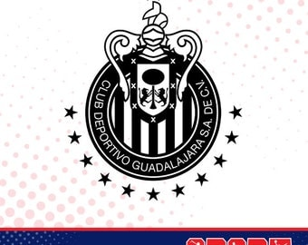 Chivas silhouette, sport silhouettes, Soccer silhouette SS-SO-026