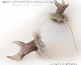 Winter Coat - Little Doe Antler