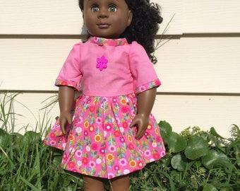 18 inch doll dress.