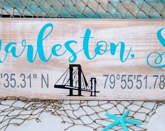 Charleston SC coordinates