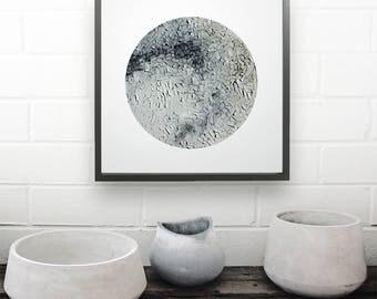 Abstract | Artwork | Art | Print | Art Prints Unframed | Minimalist | Modern | Neutral | Oil Painting | Texture