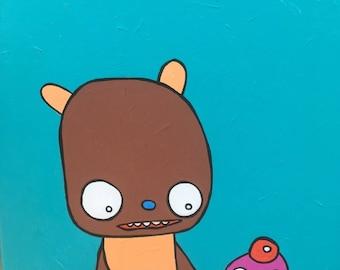 Bear and Cupcake