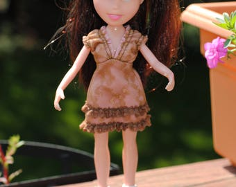Repainted Bratz doll with Ice skates