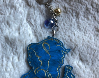 """Key ring and magnets """"Beauty and the Beast"""""""