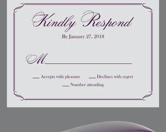 Personalized RSVP's