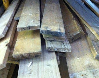 Pallet Wood - 1 Square Metre - Recycled, Denailed, and Reclaimed