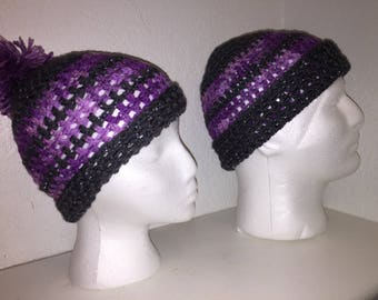 """Breathable """"His & Her's"""" Beanie Set"""