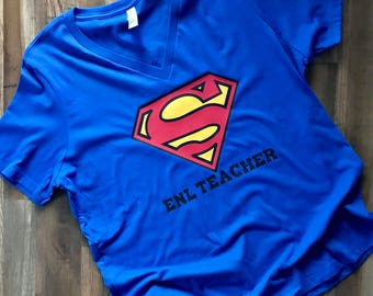 Super Teacher Shirt- Teacher Shirt