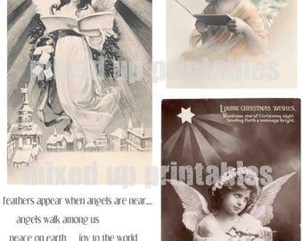 Mixed Up Printables - Angels #1