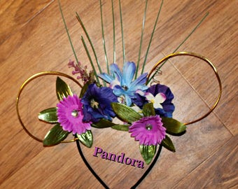 Pandora Floral Wire Mickey Ears