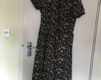 Floral dress by Voir