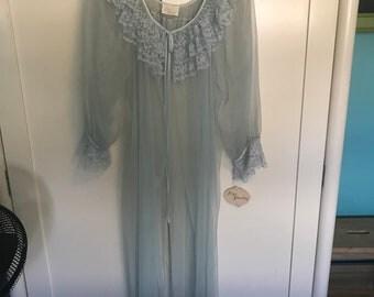 Ilise Stevens Vintage Pegnoir Robe Still With Tags