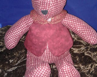 Memory Bears premade or made to order with your colors or loved ones clothes