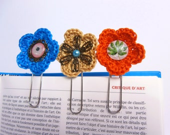 Set of 3 decorated paperclips - cheap gift idea