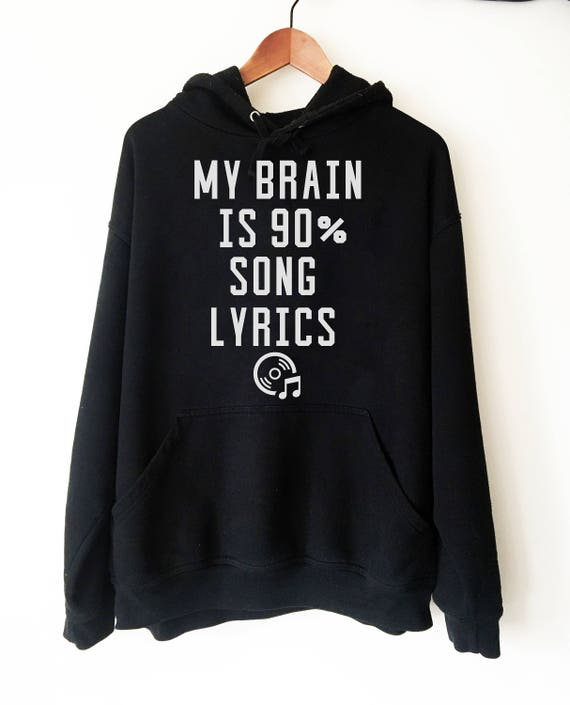 Graphic Hoodie, Music Gift for Musician, Novelty Gift for Music Lover Shirt, Graphic Sweatshirt, Musician Gift Hoody, Cool Hoodie Lungs