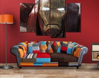 iron man canvas printiron man canvasmulti panel