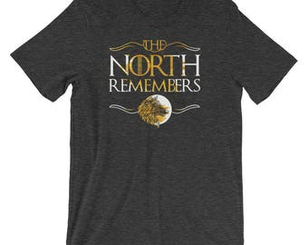The North Remembers T-Shirt | Gold Edition | *UNISEX