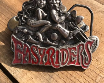 92 Easy Rider Belt Buckle