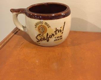 Vintage Seaforth shaving mug
