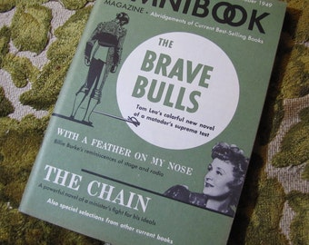 Vintage Omnibook Magazine October 1949 Issue - Best Selling Book Abridgements - Brave Bulls, The Chain, and More!