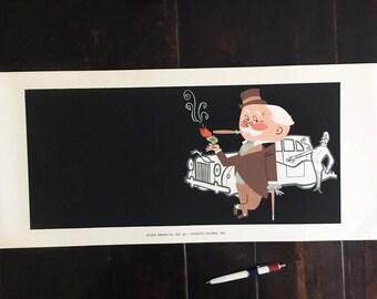 Vintage Vandsco Poster Sample