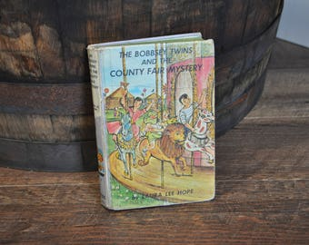 The Bobbsey Twins and the County Fair Mystery by Laura Lee Hope Book