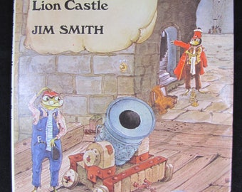 The Frog Band and the Mystery of Lion Castle // 1978 First Edition // Jim Smith // with Dust Jacket // Near Perfect