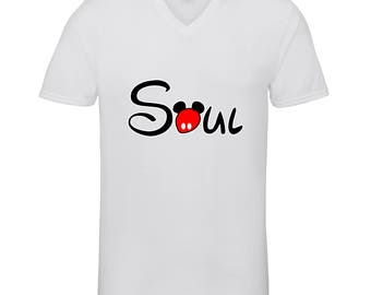Soul Mate Soul Part Shirts Adult Unisex Men Size V Neck Best Seller T-Shirts