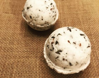 Bath Bombs Made with 100% Therapeutic Grade Essential Oils