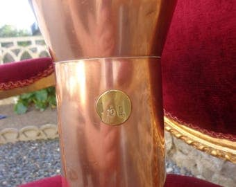 Vintage French Copper Pitcher