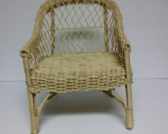 Chair Miniature Wicker
