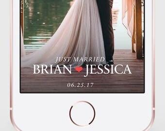 Wedding Snapchat Filter, Wedding Snapchat Geofilter, Wedding Filter, Snapchat Filter