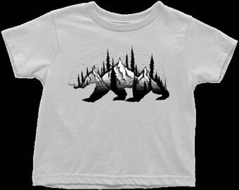Bear Mountain Toddler T-Shirt