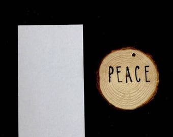 """1.5"""" Wood Ornament Gift Tags"""