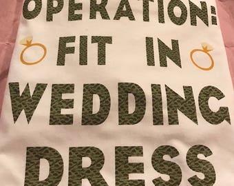 fit in wedding dress