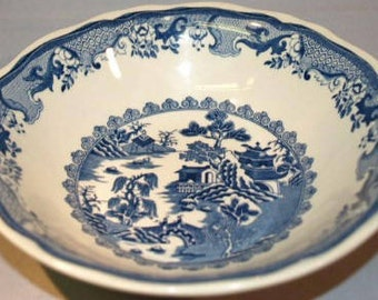 Masons Willow Blue Cereal Bowl