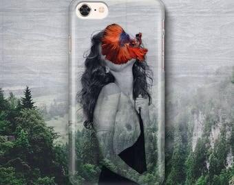 Phone Case - Fish Fairy (Cover, iPhone)