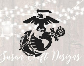 Marine corps svg cut files