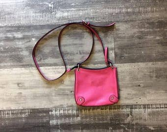 Danier All Leather Pink Purse