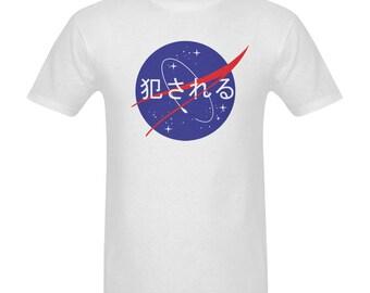 Vaporwave tshirt - Nasa tee - Nasa shirt - Nasa clothing - Aesthetic clothing - Tumblr inspired - Rave outfit - Pastel grunge - Space - Art