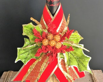 Holiday Wine Wrap